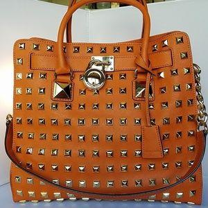 Michael Kors Hamilton Tote Bag Saffiano Leather